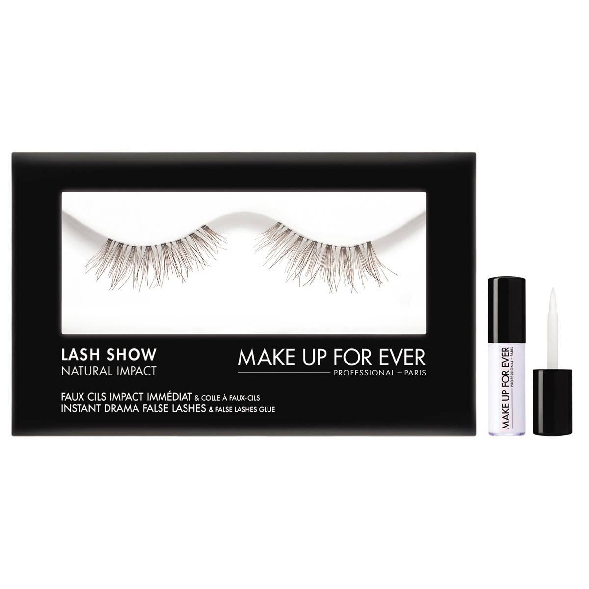 0715cfc8ff2 Photo of Lash Show False Lashes N106 by MAKE UP FOR EVER
